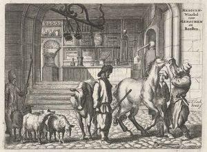 Een veearts is een gewoon mens, totdat hij of zij je paard moet behandelen of inenten. Je paard voelt zich vaak al niet lekker en dan gaat de veearts hem ook nog eens lastig vallen of pijn doen. De veearts is klassiek geconditioneerd.